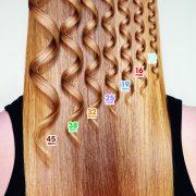 Argan Tong Curl sizes