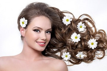 Beautiful hair for wedding with Diva